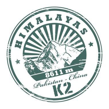 Mount K2 stamp