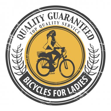 Bicycles for Ladies stamp