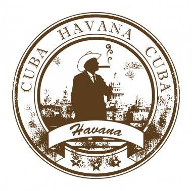 Cuba, Havana stamp