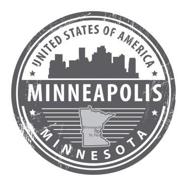 Minnesota, Minneapolis stamp