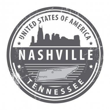 Tennessee, Nashville stamp