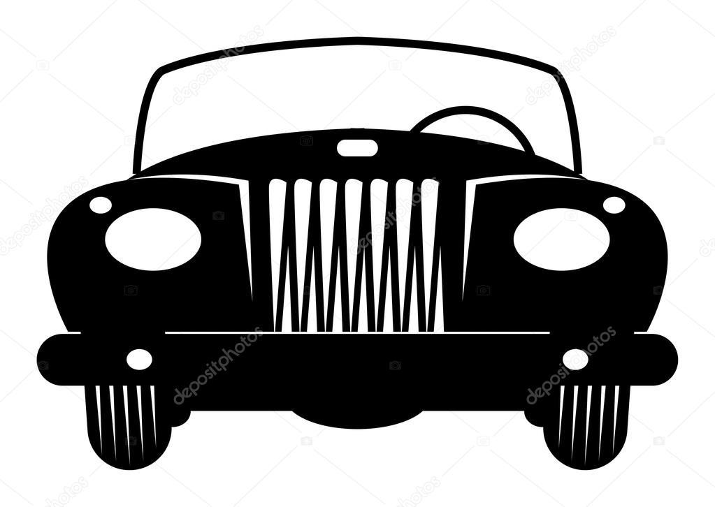 Convertible Retro Car