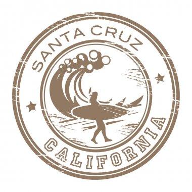 Santa Cruz, California stamp