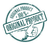 Original product stamp