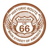 Fotografie historické route 66, arizona