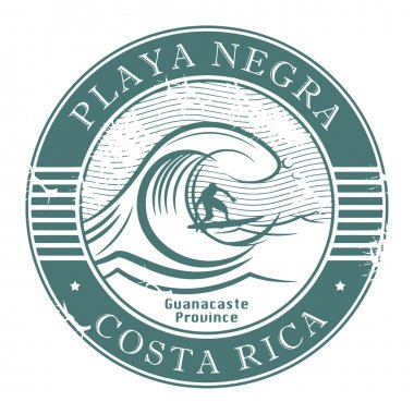 Playa Negra, Costa Rica stamp
