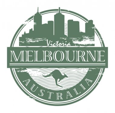 Melbourne, Australia stamp