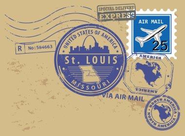 Missouri, St. Louis stamp