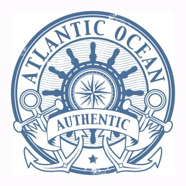 Atlantic Ocean stamp