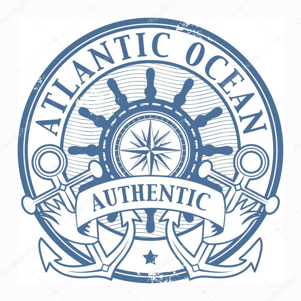 Atlantic Ocean stamp