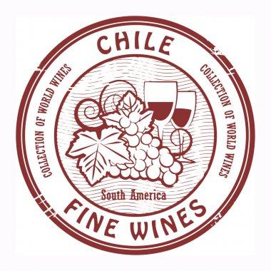 Chile, Fine Wines stamp
