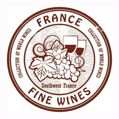 France, Fine Wines stamp