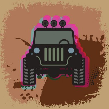 Off-road abstract