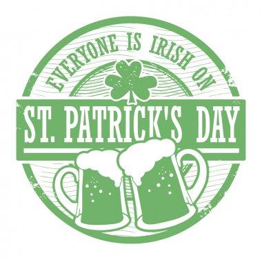 St Patrick s Day stamp