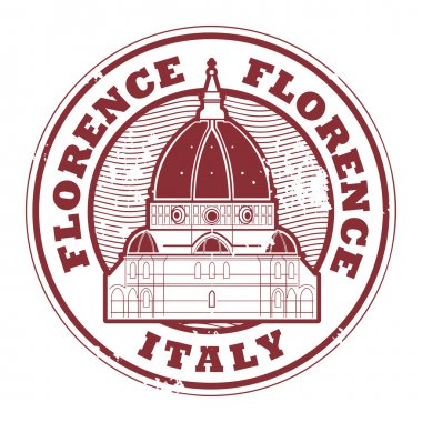 Florence, Italy stamp