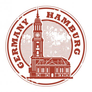 Hamburg, Germany stamp