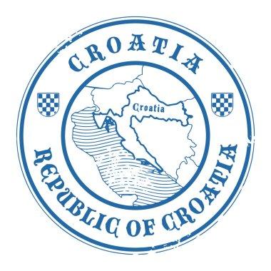 Croatia stamp