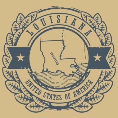Louisiana, USA sign