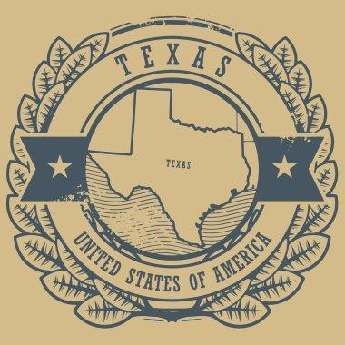 Texas, USA sign