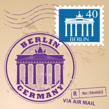 Berlin, Germany stamp