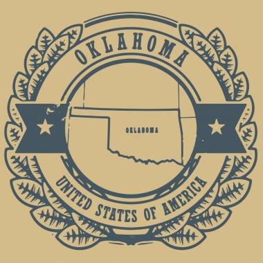 Oklahoma, USA sign