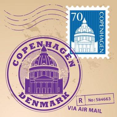 Copenhagen, Denmark stamp set