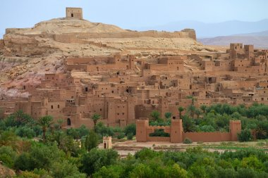 Old village in the Atlas Mountains