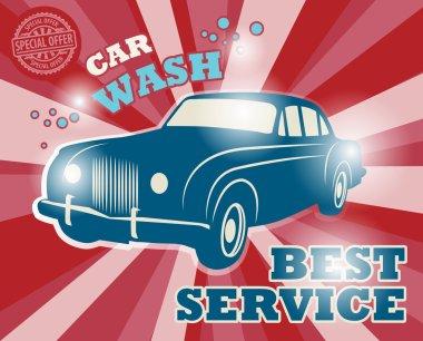 Car wash sign