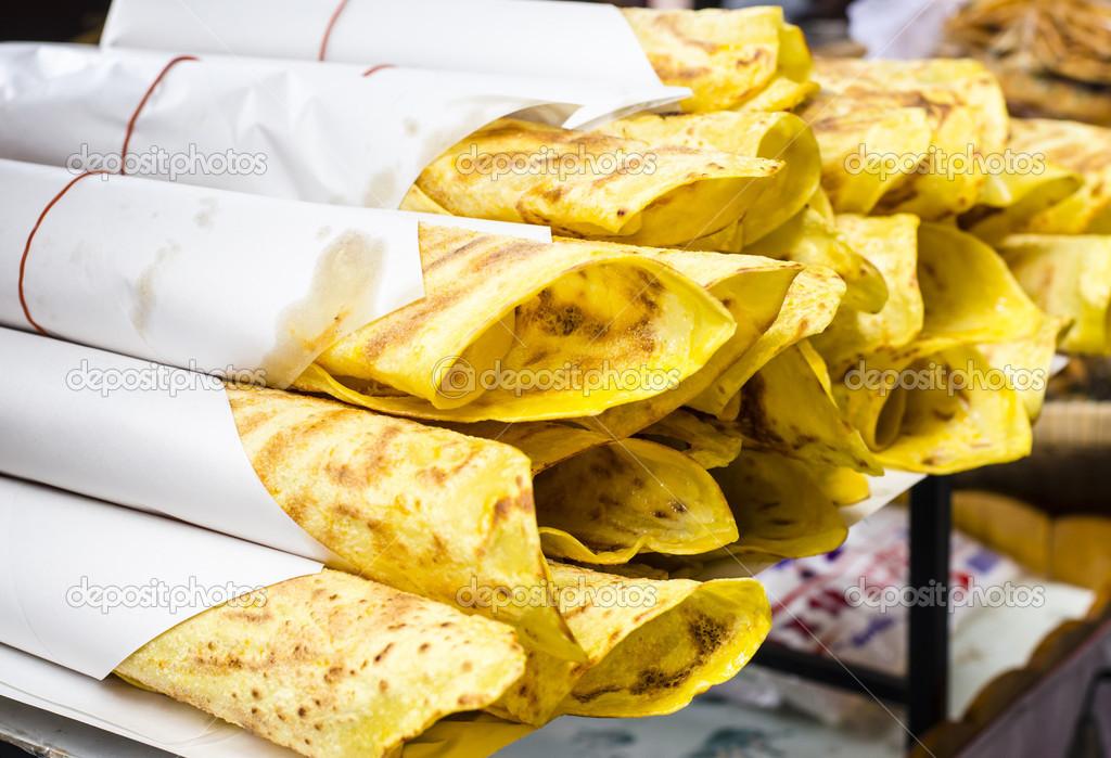 Delicious Indian Naan Bread