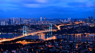 Bhosphorus bridge istanbul Turkey