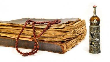 Muslim rosary on the koran