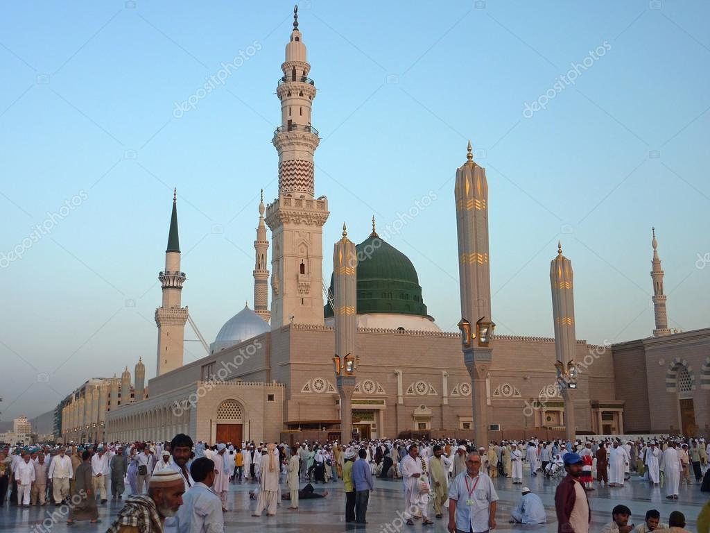 預言者のモスク モスク、メディナ、サウジアラビア — ストック写真