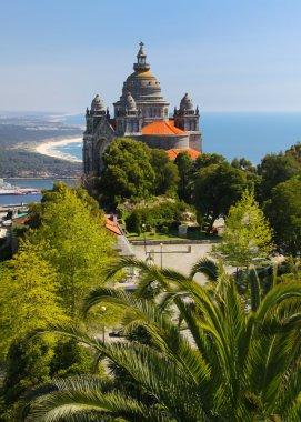 Basilica de Santa Luzia near Viana do Castelo, Portugal 02