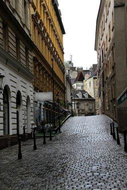 Old town street in Vienna
