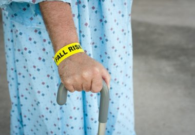 Elderly Man A Fall Risk