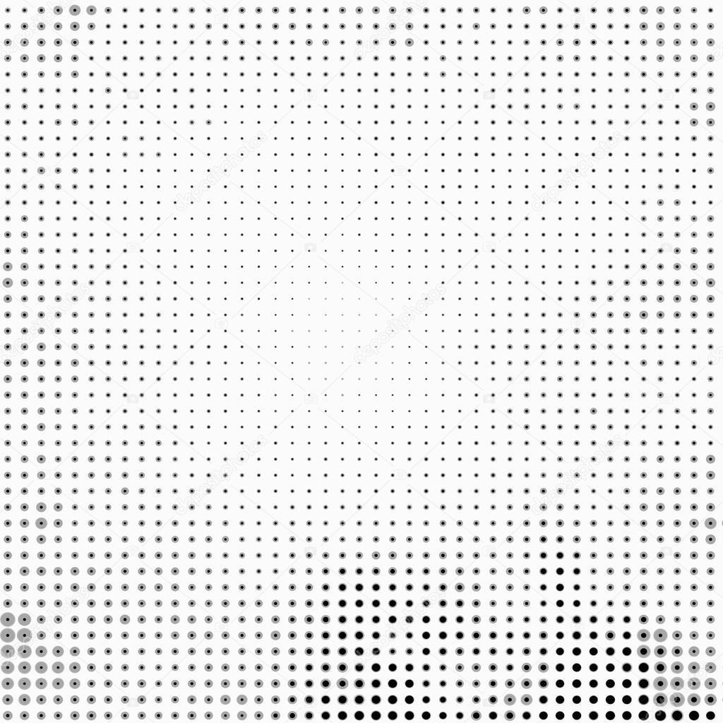 black and white polka dot background
