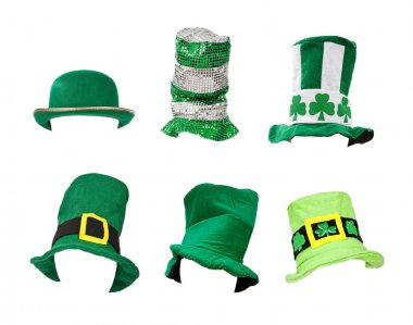 Assortment of St Patricks Day Hats