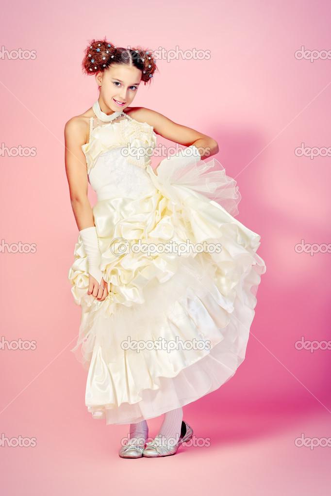 vestido esponjoso — Fotos de Stock © prometeus #14840199