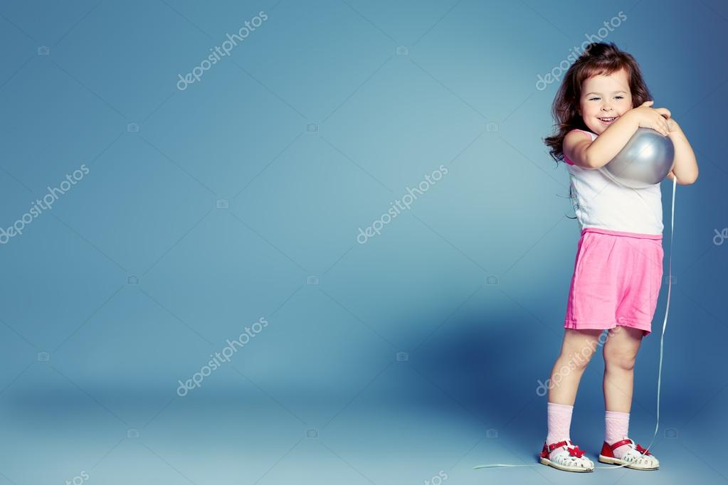 Playing girl