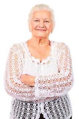 Smiling granny