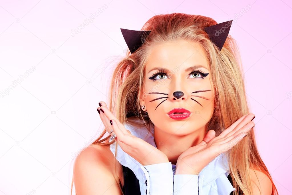 hete Pussycat grote monster pik anale