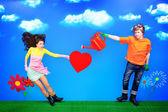 Láska srdce
