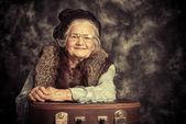 Fotografie lady traveller