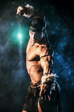 barbarian man