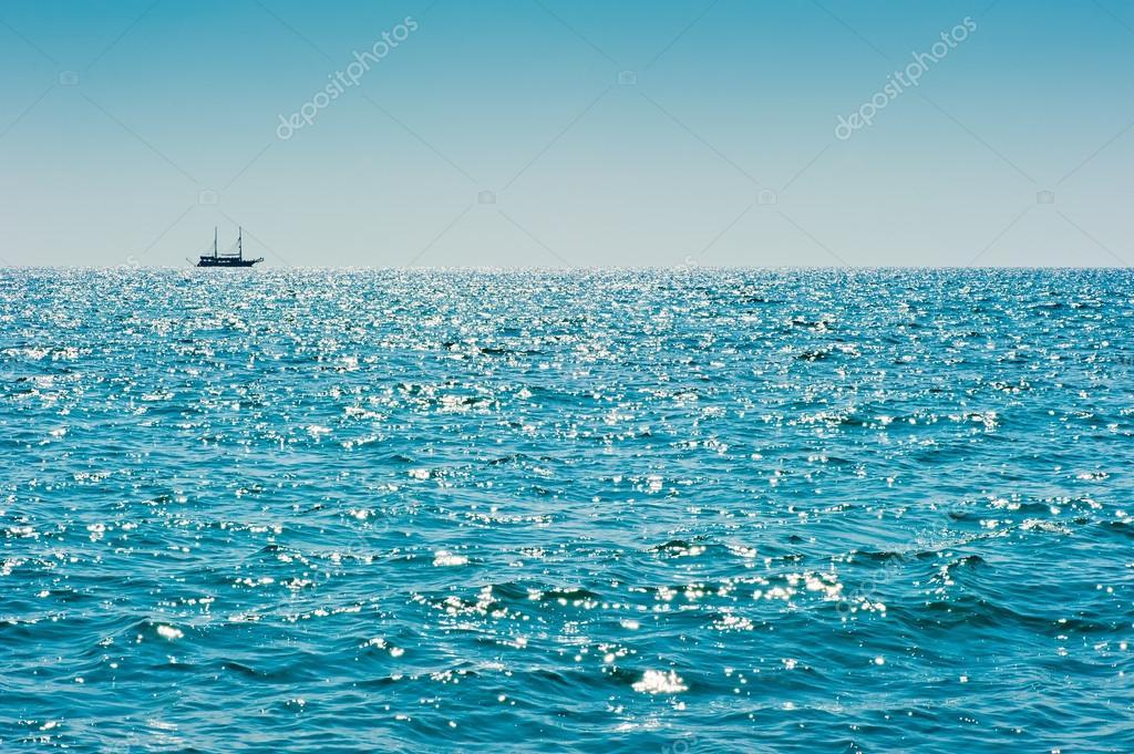 Фотообои Глубокое Синее Море
