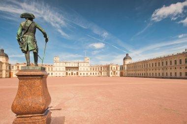 Gatchina. Famous palace and monument to suburban St. Petreburge