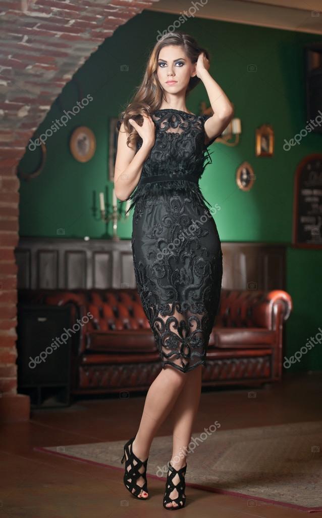 Vestido para cena elegante