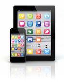 Chytrý telefon a tablet pc