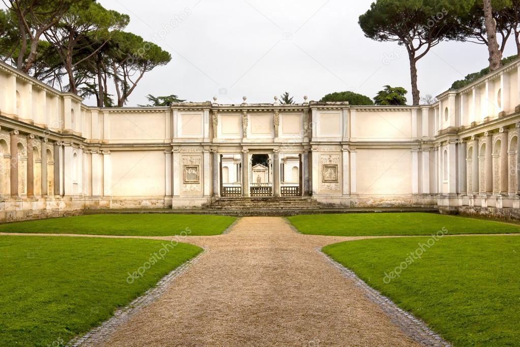 Römischer Garten Stockfoto Marugod83 26502307