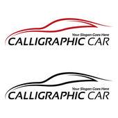 kalligraphische Auto logos